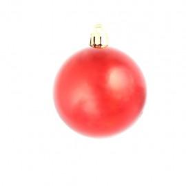 100 pcs. Christmas ball set 6 cm red