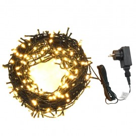 Light garland 400 LED Indoor and outdoor 40 m White