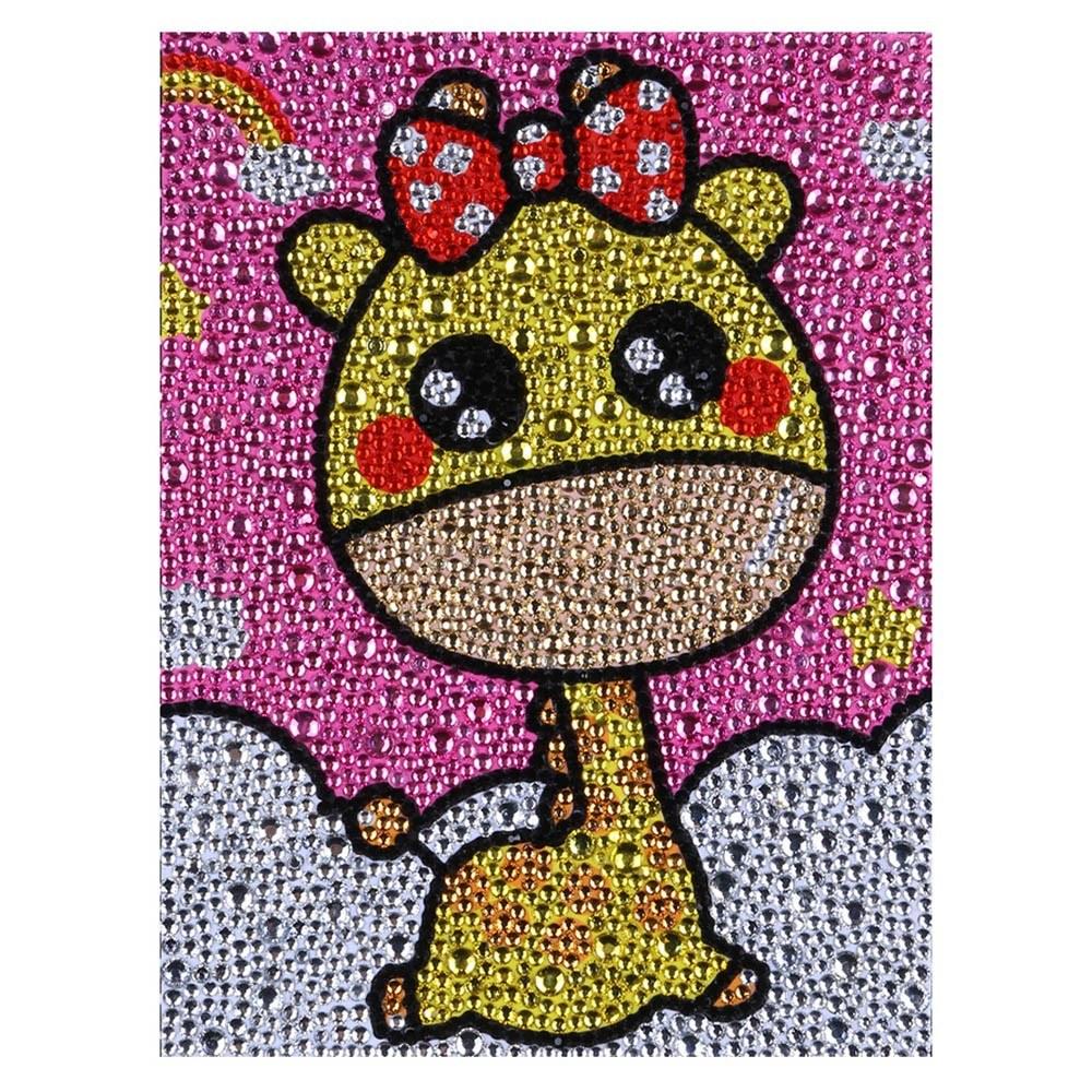 5D DIY Diamond Painting Special Shape Diamond Cute Animals Diamond Painting Kits for Kids Beginner