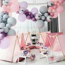 5M Transparent DIY Balloon Decorating Strip Balloon Chain Connect Strip with Holes Party Supplies for Wedding Birthday Xmas Baby Shower