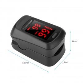Fingertip Pulse Oximeter LED Digital Display for Gauging Pulse Rate Blood Oxygen Saturation Home Health Care