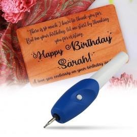 EZ ENGRAVER electric engraving pen electric lettering pen electric carving brush 44g 56g Suction card