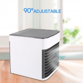 Mini Air Conditioner Fan USB Cooler Small Cooling Circulator for Home Dormitory Office Room Desktop Table Use Portable
