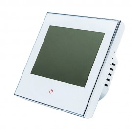 16A 95-240V Weekly Programmable LCD Display T-ouch Screen Electric Heating Thermostat Room Temperature Controller